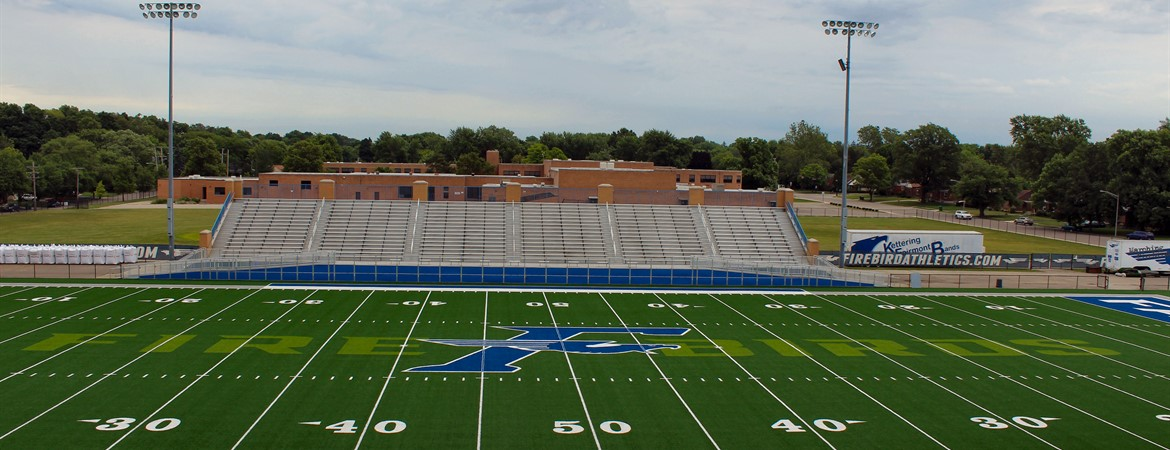 Turf Field at Roush Stadium, Home of the Firebirds