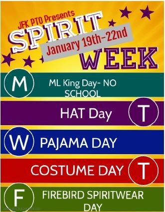 JFK SPIRIT WEEK