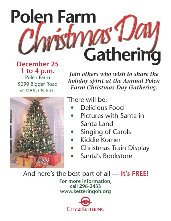 Christmas Day Open House at Polen Farm - Kettering Middle School