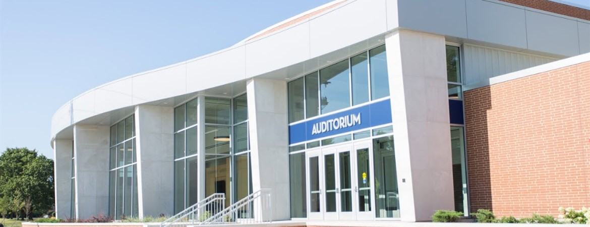 The new Fairmont Auditorium was dedicated in March of 2019.