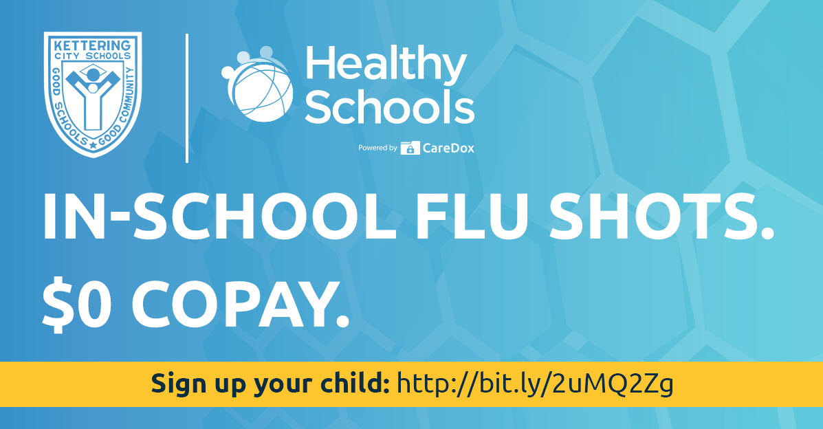 Parents/Giuardians Can Sign Children up to Get a Flu Shot