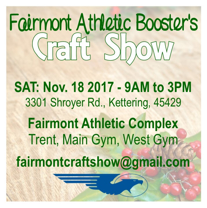 Fairmont Craft Show Set for November 18