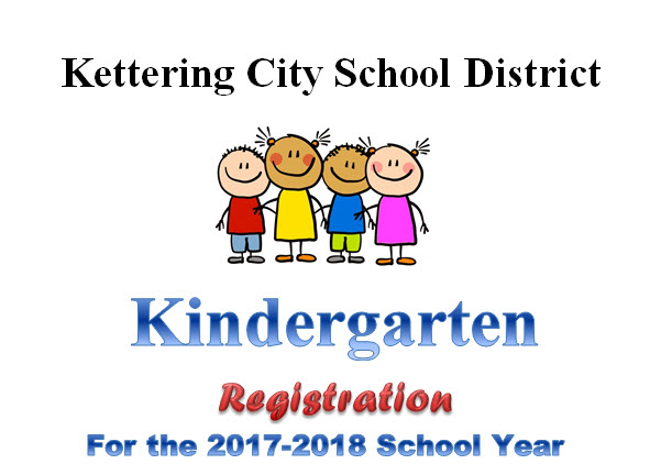Kindergarten Registration for the 2017-18 School Year now Under Way