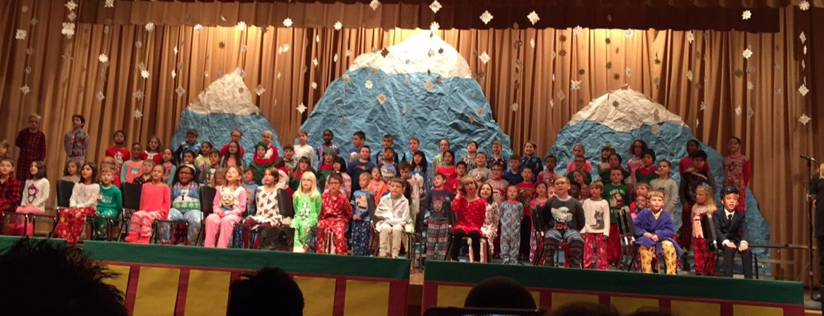 JFK 3rd Grade Winter Musical