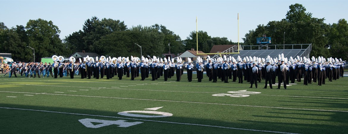 263 Fairmont Students Make up the 2018 Marching Firebirds