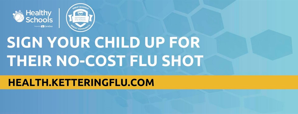 Parents/Guardians can sign child(ren) up for flu shots, to be administered November 12-14.