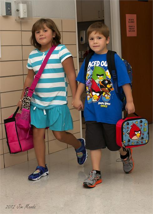 First Day of School - August 2012